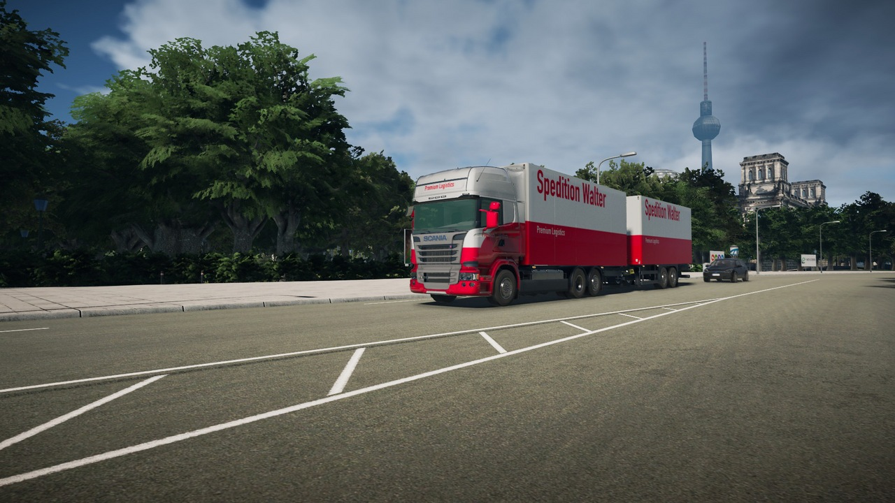 On the Road - Truck Simulator [PS4] (D)
