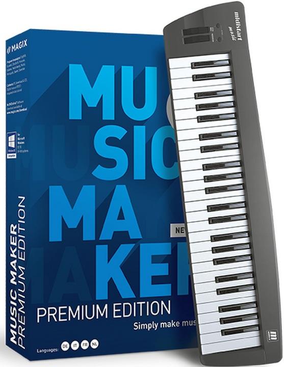 MAGIX Music Maker Control Edition 2021 [PC] (D/F/I)