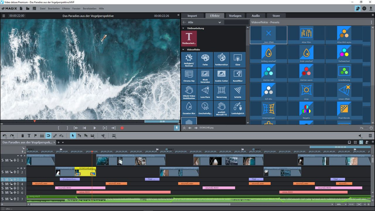 MAGIX Video deluxe Control Edition 2020 [PC] (D)