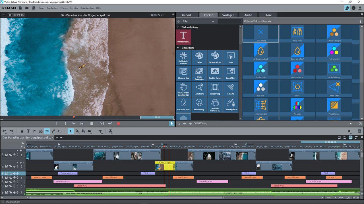 MAGIX Video deluxe Premium 2021 [PC] (F/I)