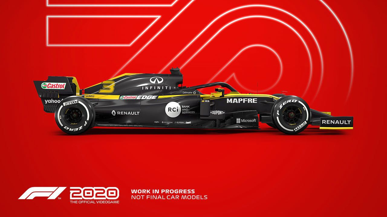F1 2020 - 70 Jahre F1 Edition [XONE] (D)