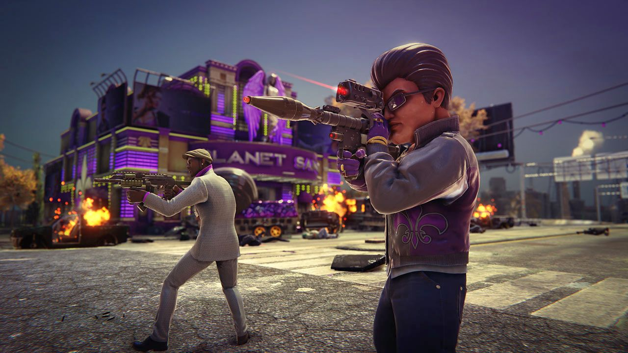 Saints Row: The Third - The Full Package Remastered [PS4] (D)