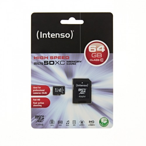 INTENSO Micro SD class 10 64GB 3413490
