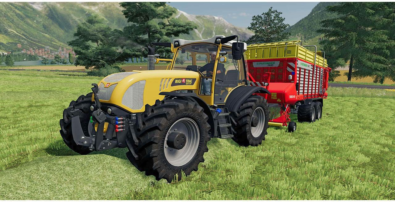 Landwirtschafts-Simulator 19 - Alpine Landwirtschaft [Add-On] [DVD] [PC] (D)