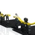 Hubelino pi: Kugelbahn Set inkl. Gausskanone [70 Teile]