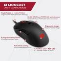 Lioncast LM50 FPS Gaming Maus [PC]