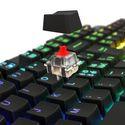 Lioncast LK300 RGB Gaming Tastatur [Swiss Layout] [PC]