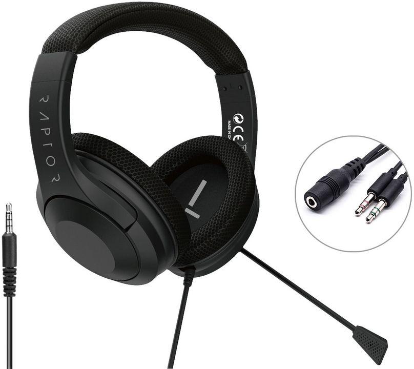 Raptor-Gaming H300 Headset - black [PS5]