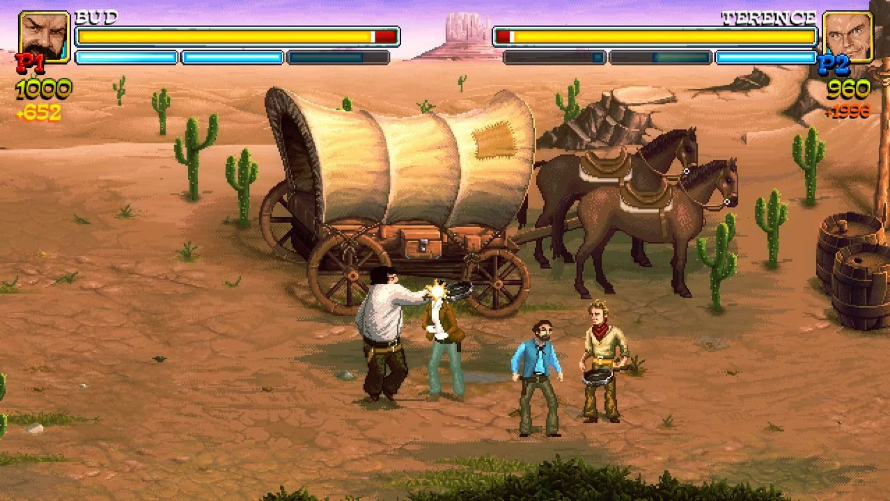 Bud Spencer & Terence Hill Slaps And Beans Anniversary Edition [PS4] (D)