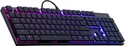 Cooler Master - SK650 - RGB Cherry Low Red Mechanical Keyboard [CH Layout]