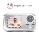 Motorola MBP 483-G Digital Video Baby Monitor