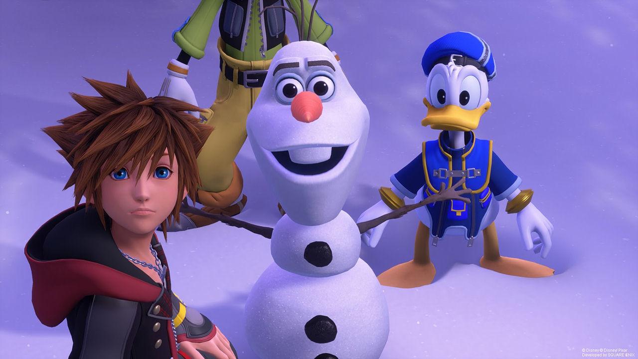 Kingdom Hearts 3 [PS4] (D)