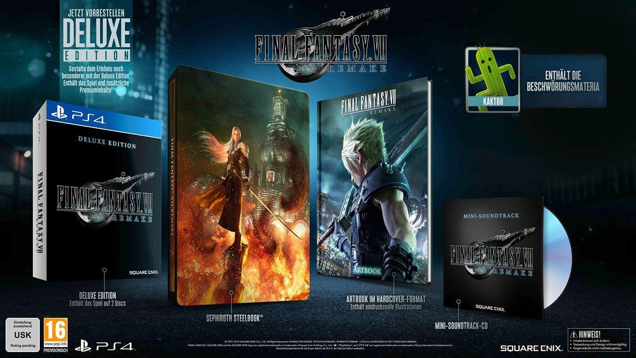 Final Fantasy VII: HD Remake [PS4] (D)