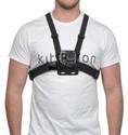 Kitvision Chest Mount for Action Cameras - black