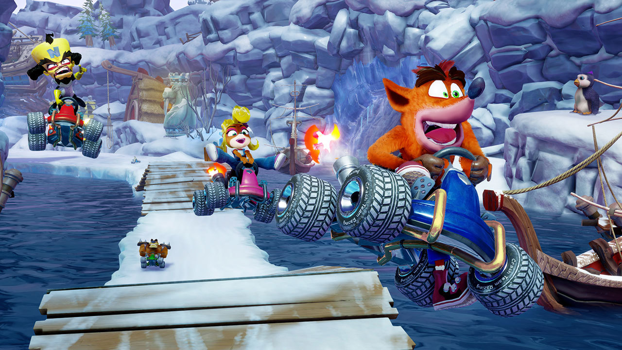 CTR Crash Team Racing - Nitro-Fueled [PS4] (D)