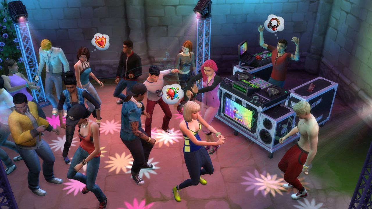 The Sims 4 Get together - Add-On [DVD] [PC/MAC] (D/F/I)