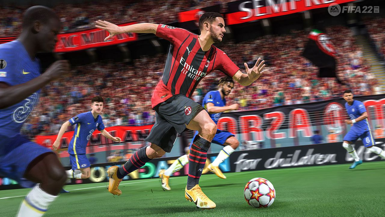 FIFA 22 [PS4] (D/F/I)