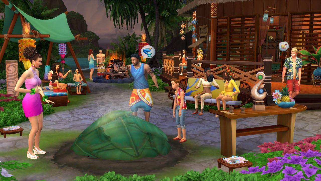 The Sims 4 - Island Living Bundle [PC/Mac] [Code in a Box] (D/F/I)