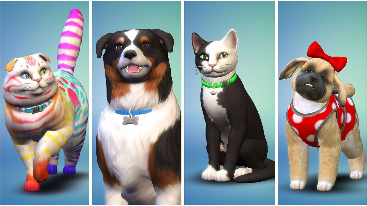 The Sims 4 Cats & Dogs- Expansion Pack [PC/Mac] [Code in a Box] (D/F/I)