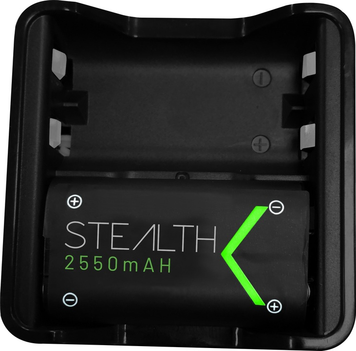 SX-C10 X Twin Rechargeable Battery Packs - black [XSX]