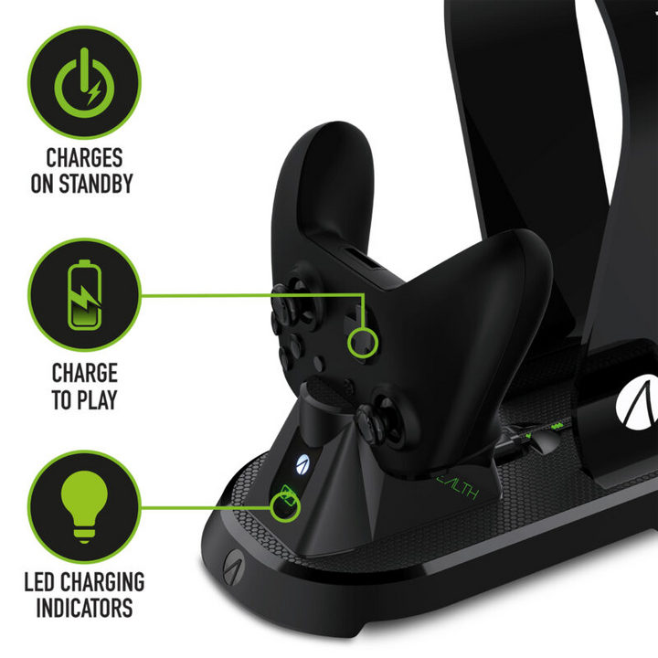 SX-C60 X Charging Station + Headset Stand - black [XSX]