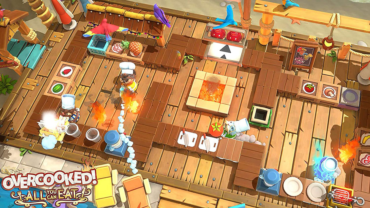 Overcooked - All You Can Eat [PS4] (D)
