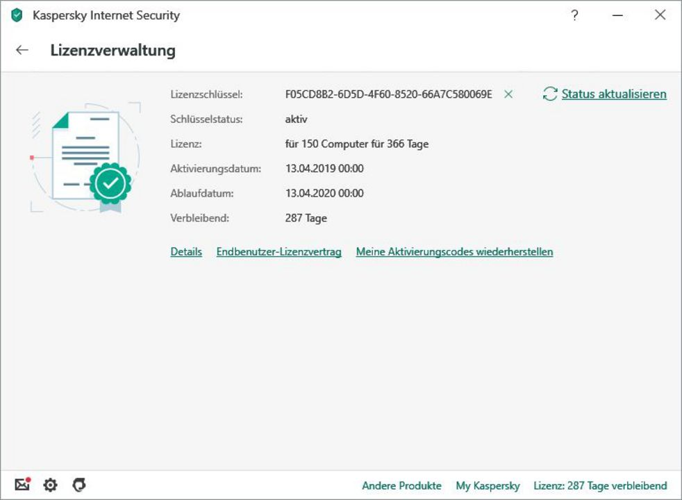 Kaspersky Internet Security (3 PC) [PC/Mac/Android] (D/F/I)