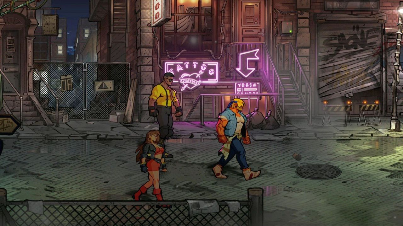 Streets of Rage 4 [NSW] (D/F/I)