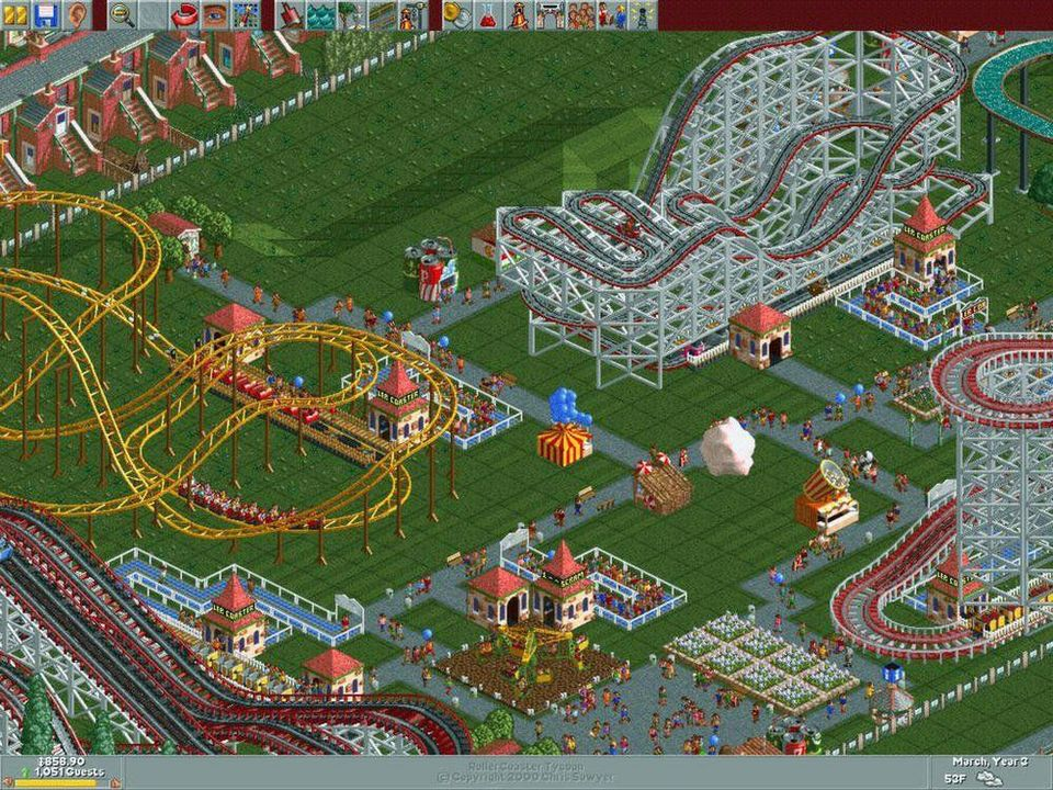 Roller Coaster Tycoon 9 - Mega Classic Games [DVD] [PC] (D/F)