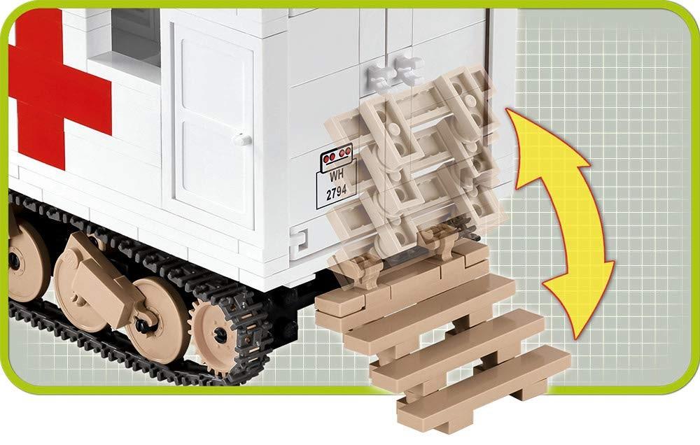 COBI 2518 - Small Army, Ford V3000S Maultier Ambulance, Kostruktionsspielzeug...