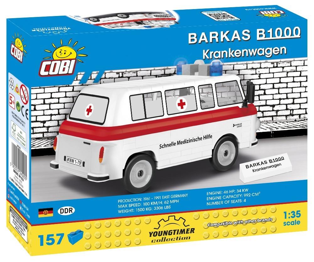 COBI Youngtimer Collection 24595 - BARKAS B1000 SMH3, 215 Teile, 1:35