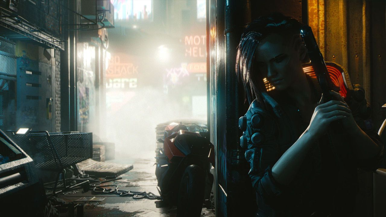 Cyberpunk 2077 - Day 1 Edition [Code in a Box] [PC] (D/F/I)