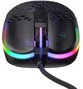 Xtrfy MZ1 RGB Rail Gaming Mouse - black transparent