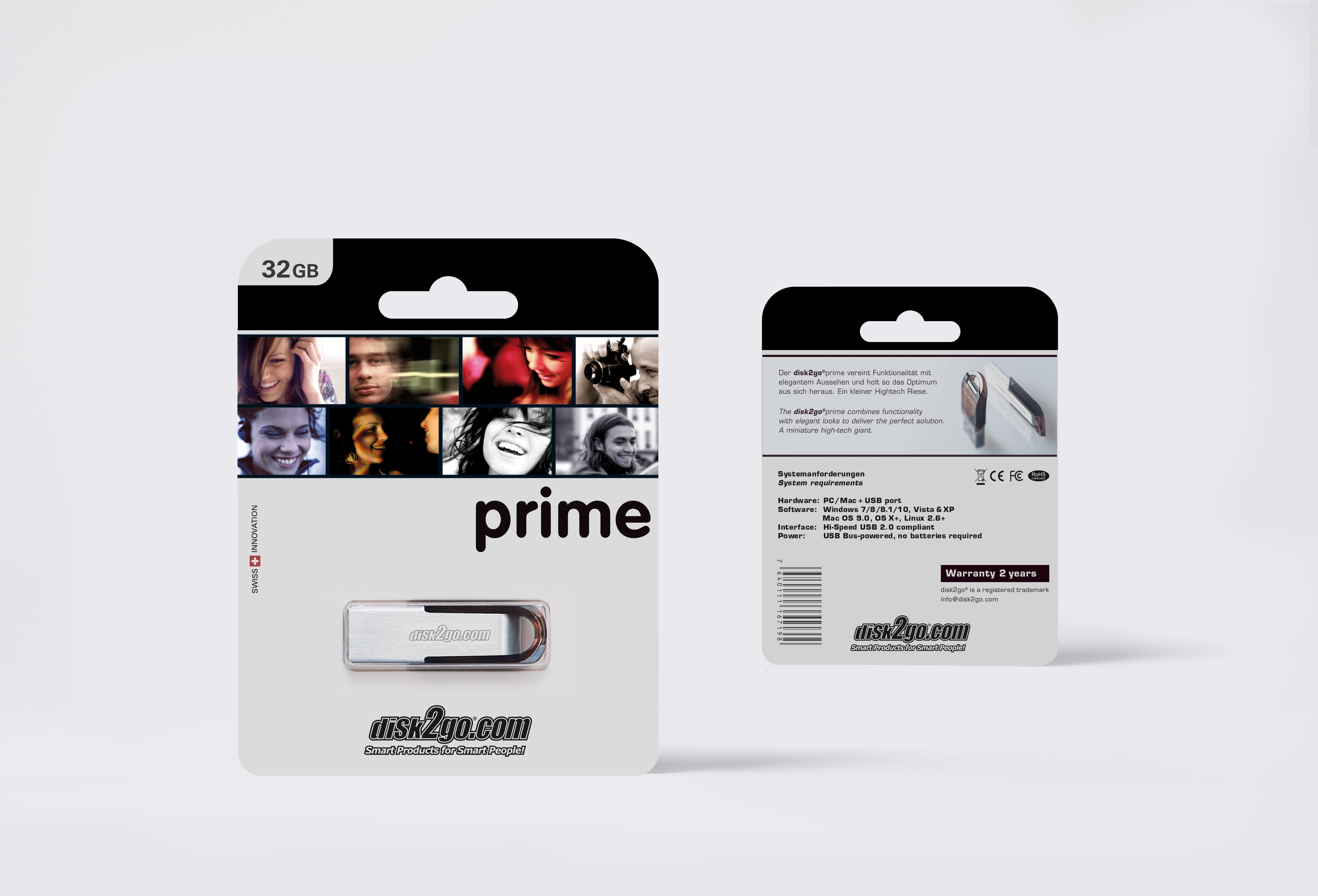 DISK2GO USB-Stick prime 32GB 30006702 USB 2.0