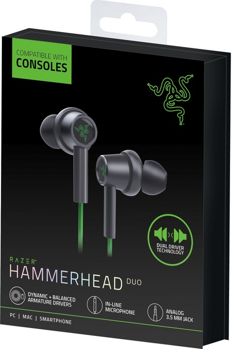 Razer Hammerhead Duo Gaming Headset for Console