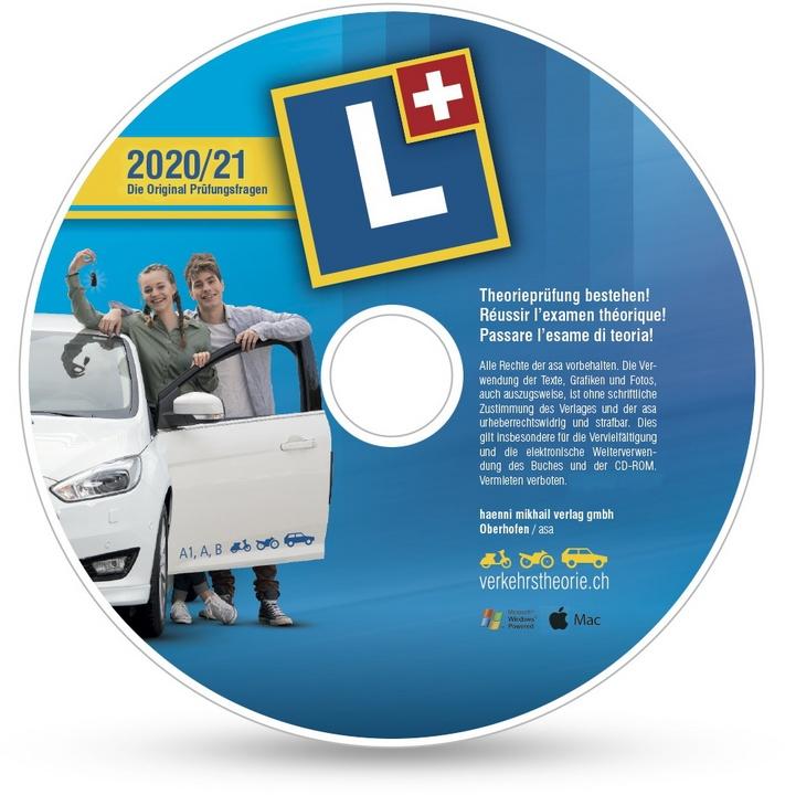 verkehrstheorie.ch 2020/21 [Kat. A+B] Set (D/F/I) Software+Arbeitsheft [PC/Ma...